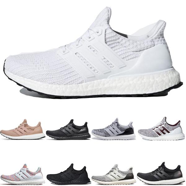 Adidas ultra boost 3.0 4.0 Erkek Koşu Ayakkabıları Oreo beyaz Siyah CNY Gri sneakers shoes spor ayakkabı trainer şort