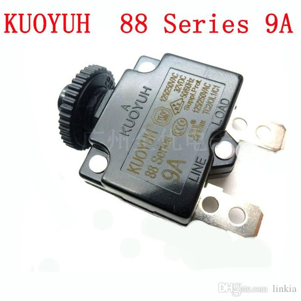 top popular Taiwan KUOYUH Overcurrent Protector Overload Switch 88 Series 9A 2021