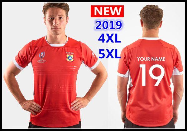Uluslararası Ligi forması 2019 Dünya Kupası tonga RWC Ev Rugby Gömlek milli takım TONGA rugby formaları s-5xl