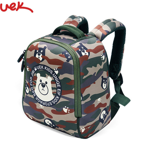 Cute Kid Toddler School Bags Backpack Kindergarten Schoolbag Bear Printing Kids Animal School Waterproof School Backpack Sj013