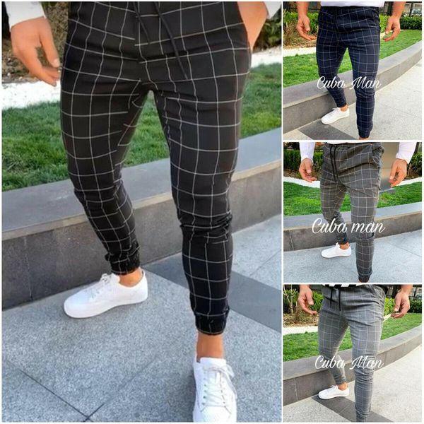 Distribuidores De Descuento Pantalones A Cuadros Para Hombre 2021 En Venta En Dhgate Com