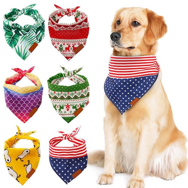 Cokeymove Hund Schal Haustier Welpen Katze Schal Turban Kragen Dreieck Schal Turban Kragen Kragen Dekoration Hundehalsband chic Reliable