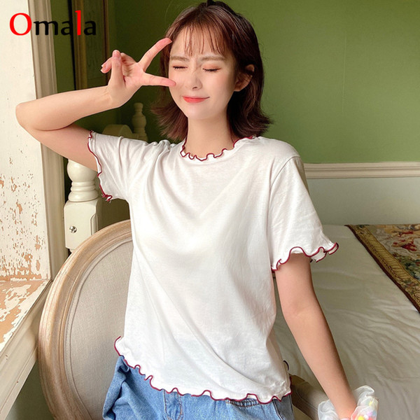 Discount Fashion T Shirts Girl Korean 2021 On Sale At Dhgate Com