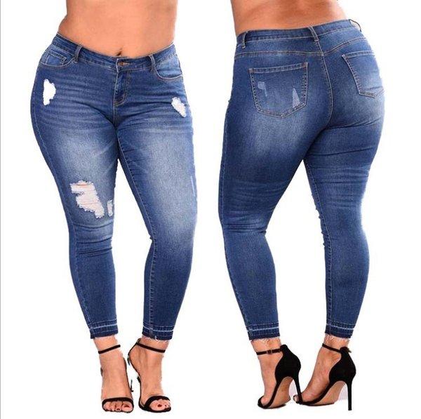 Distribuidores De Descuento Pantalones Rasgados Para Las Mujeres 2021 En Venta En Dhgate Com