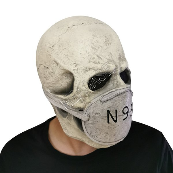 Maschera Aliena Maschera Spaventosa di Halloween Maschera per la Testa in Lattice Horror Puntelli UFO Accessori per Costumi Cosplay per Decorazioni di Halloween