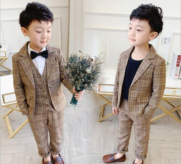 Alvivi Kids Boys Sleeveless Formal Suits Shiny Floral Pattern Gentleman Waistcoat Vest Top