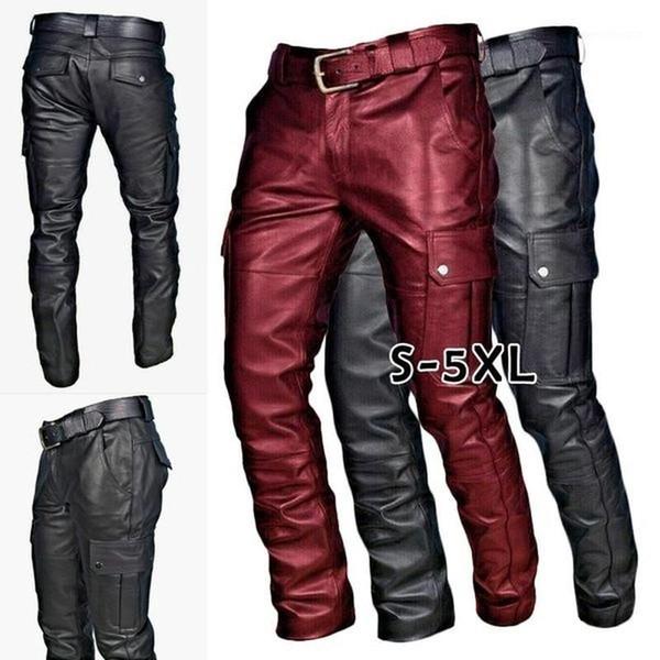 Distribuidores De Descuento Pantalones De Cuero Hombres Rock 2021 En Venta En Dhgate Com