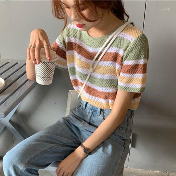 Discount Vintage Striped T Shirt 2021 On Sale At Dhgate Com