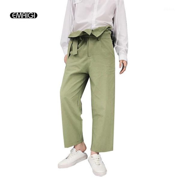 Distribuidores De Descuento Los Hombres Pantalones De Talle Alto 2021 En Venta En Dhgate Com