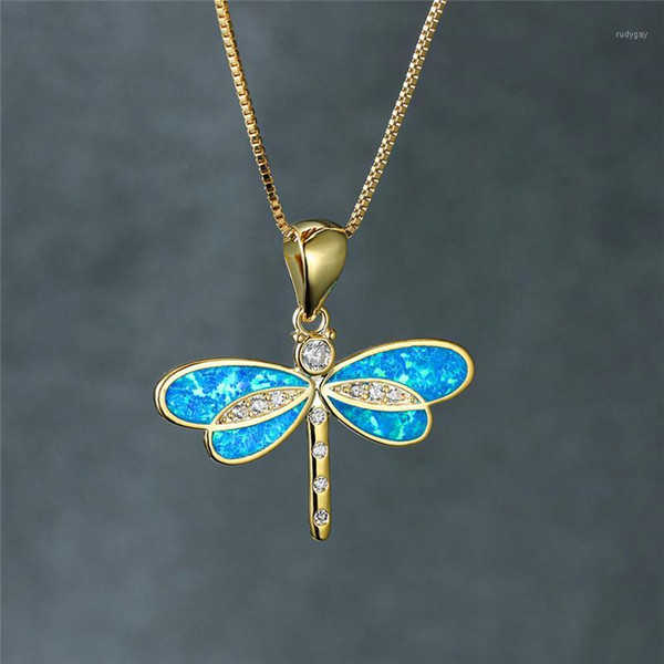 Extra Large White Opal Pendant Necklace on Gold Chain with Gold Leaf Charms The Crystal Ball