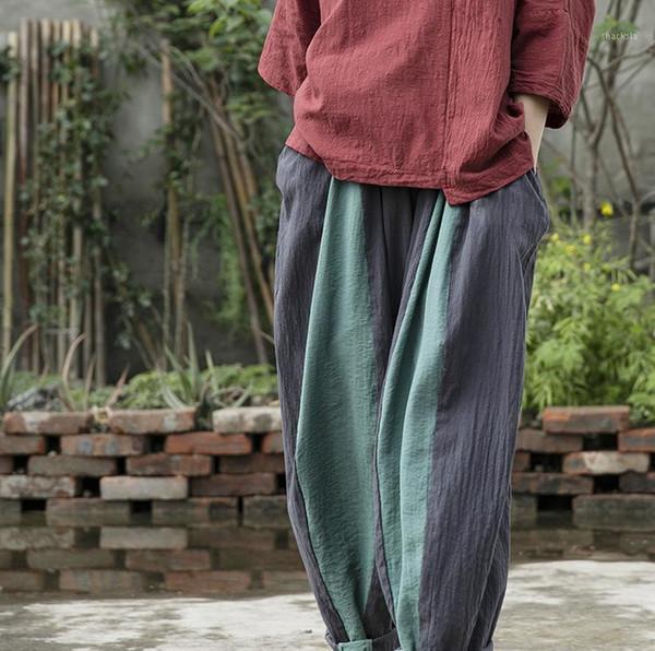 Distribuidores De Descuento Harem Pantalones Mujer Diseno 2021 En Venta En Dhgate Com