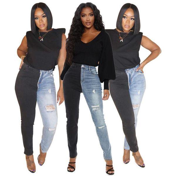 Distribuidores De Descuento Jeans Moda Coreana Mujer 2021 En Venta En Dhgate Com