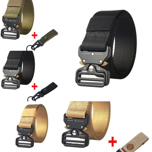 Tactical Nylon Waistband Außen Taktische Schnalle Militär Gürtel Sports Belt