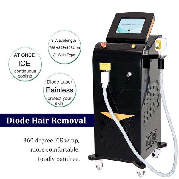 2019 Permanent Haar Entferner 808 Nm Alexandrit Laser S Diode Laser Diode Laser Haar Entfernung