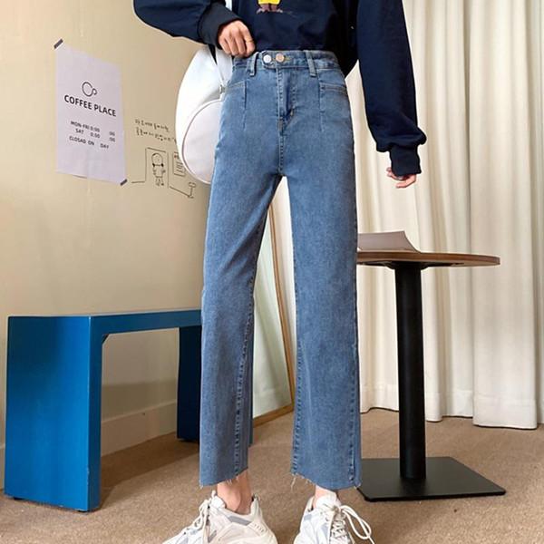 Distribuidores De Descuento Pantalones Anchos Recortadas 2021 En Venta En Dhgate Com
