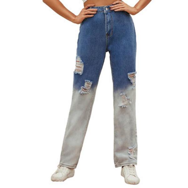 Distribuidores De Descuento Holgados Pantalones Rotos De Las Mujeres 2021 En Venta En Dhgate Com