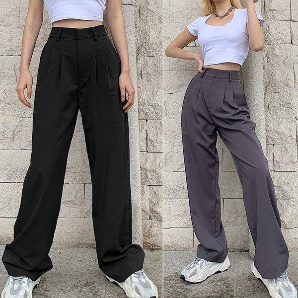 Distribuidores De Descuento Mujer Suelta Pantalones De Oficina 2021 En Venta En Dhgate Com