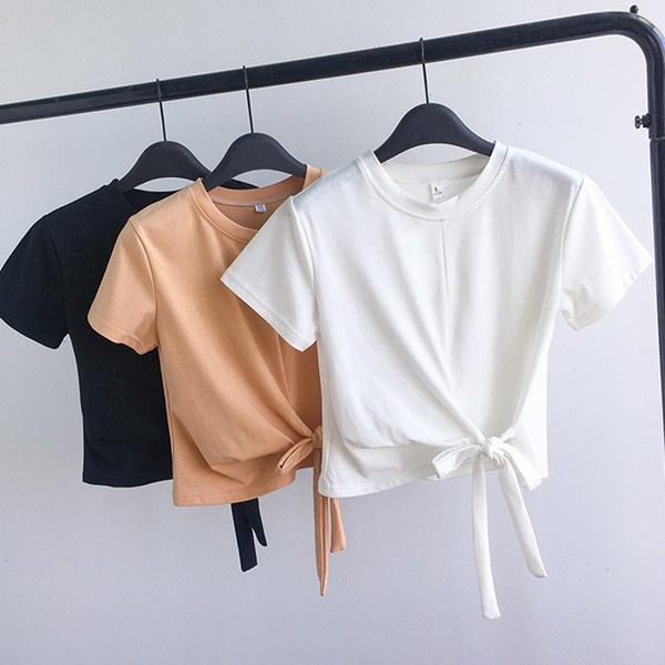 Discount Korean Girls Tops T Shirts 2021 On Sale At Dhgate Com