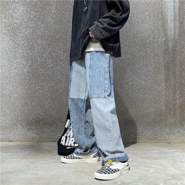 Distribuidores De Descuento Nuevos Jeans Rectos De Moda Coreana 2021 En Venta En Dhgate Com