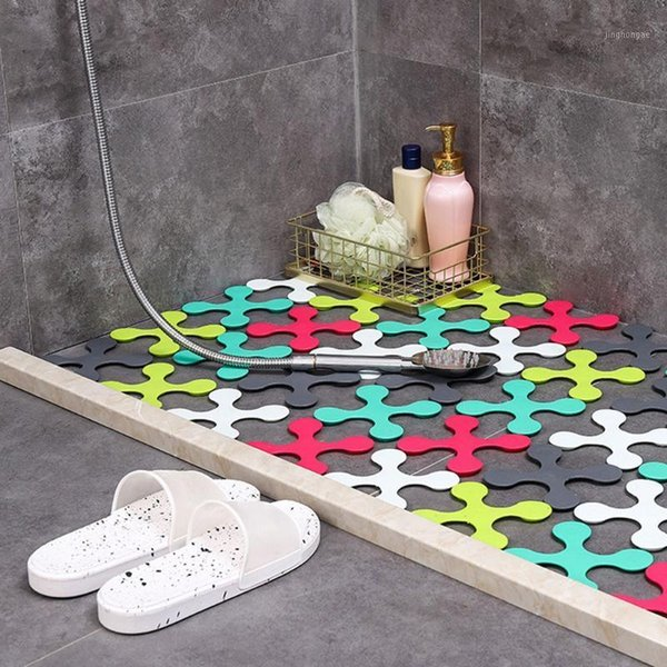 6 Inches Simpracon 42 Pieces Colorful Arrows Carpet Markers Arrows Shaped Floor Markers for Classroom Home Social Distance 42