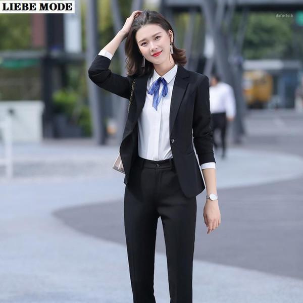 Distribuidores De Descuento Pantalones De Mujer Trajes Para El Trabajo 2021 En Venta En Dhgate Com
