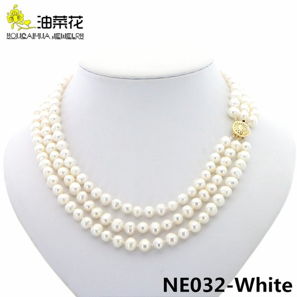 Distribuidores De Descuento Collar De Perlas Naturales Aaa 2021 En Venta En Dhgate Com