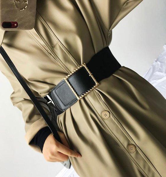 En cuir synthétique chiffon Alliage Ceinture Pour Femmes Fashion Casual Brillant Robe de Bureau