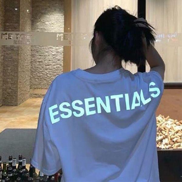 Los Angeles Limited Brouillard la crainte de dieu Essentials 3 M Réfléchissant T-shirt Taille S-XL