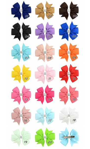 24 pcs Gold color small Hair snap clips size 30 mm for toddler baby girl
