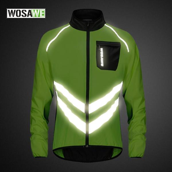 Chaqueta de ciclismo reflectante abrigo de viento Mountain bike  Downhill Jacket