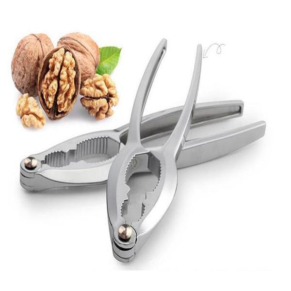 Color : A Nutcracker Tools Stainless Steel Zinc Alloy Nutcracker Sheller Walnut Nut Cracker Quick Walnut Almond Pecan Nutcracker Kitchen Tool Accessories Nutcracker Tools