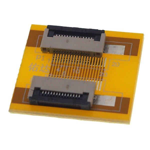 0.5mm 54pin to 54pin FPC FFC Flat Flex Cable Increasing Screen Line Extension