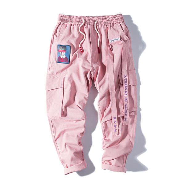 Distribuidores De Descuento Pantalones Cargo Rosa Mujer 2021 En Venta En Dhgate Com