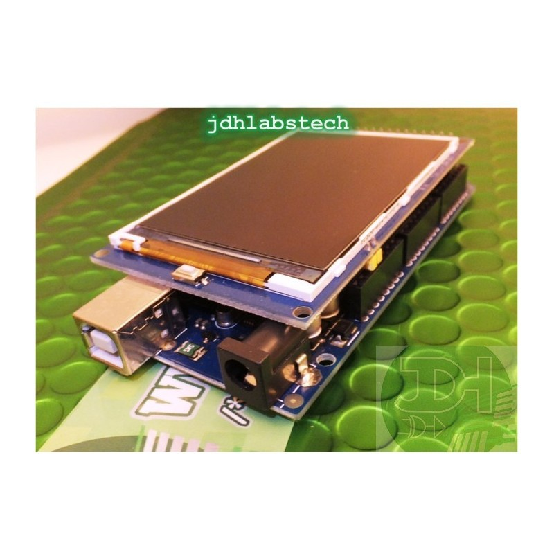 3 2-inch UTFT display Shield high brightness with a resolution of 480x320  pixels for Arduino Mega and Interface for SD card