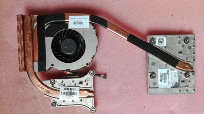 Wholesale Heatsink Hp - new 734291-001 cooler for HP ZBOOK 15 graphics card and cpu cooling heatsink with fan radiator AT0TJ001FA0 DFS531005PL0T