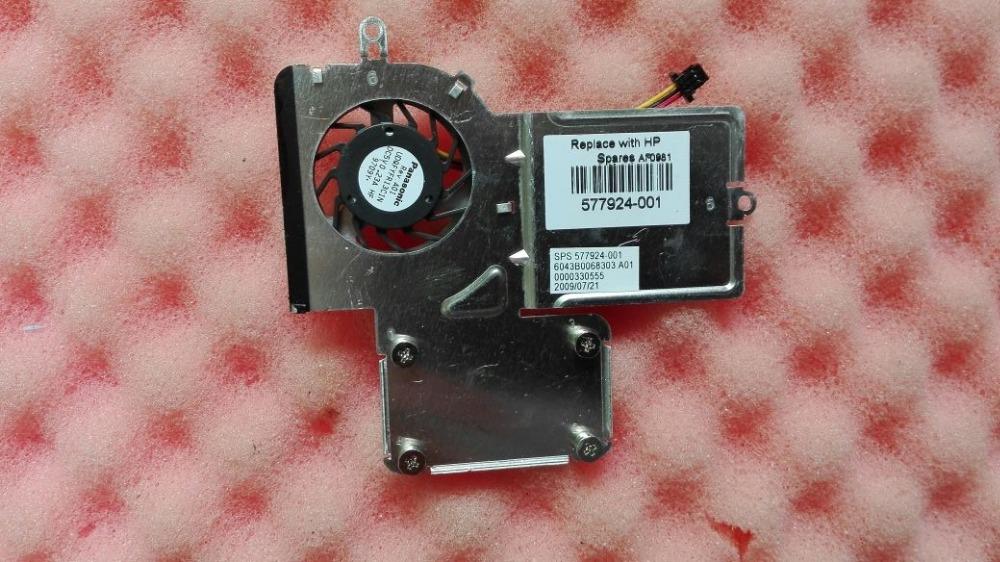 Wholesale Fan Hp Laptop - Original cooler for HP Mini 5101 laptop cooling heatsink with fan 577924-001 6043B0068303 UDQFYFR13C1N 0000330555