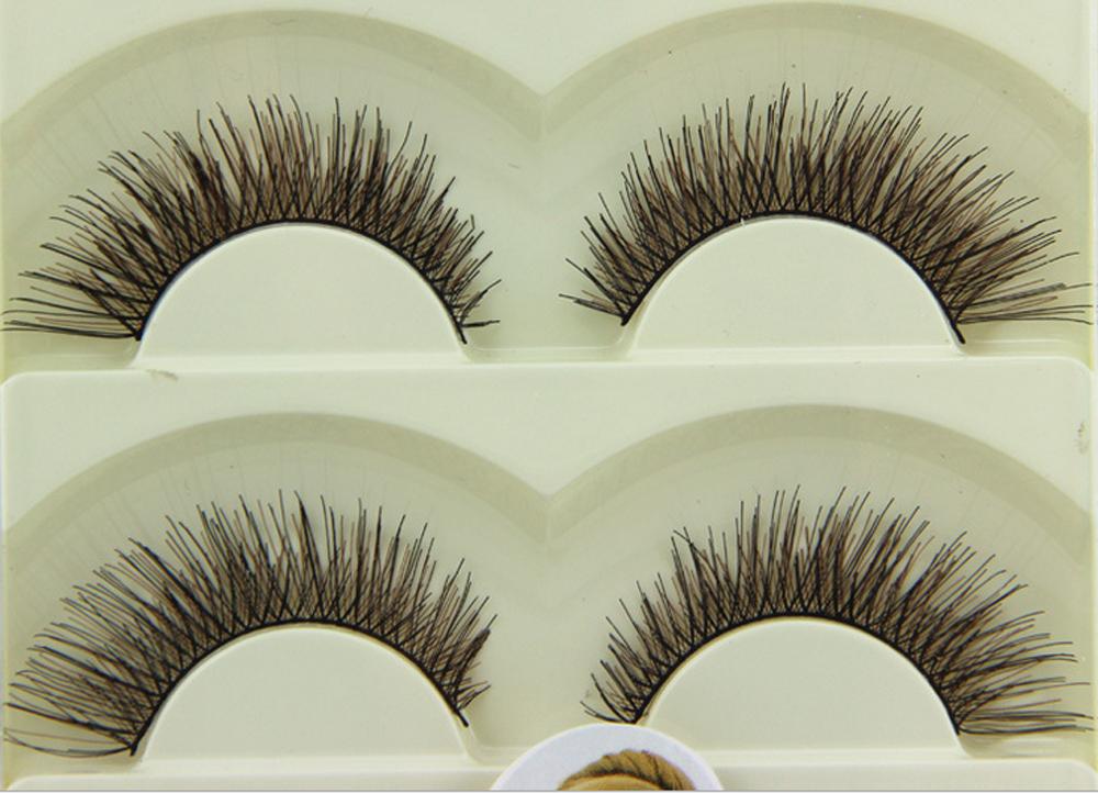 Wholesale Cheap Human Hair Lashes - similar true hair eyelashes,silk eyelashes cheap eyelashes Korea pbt fiber eyelashes protein human hair eyelashes 5-05