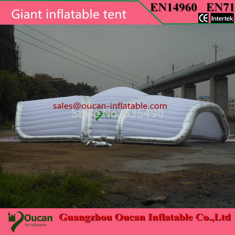 Wholesale 15meters dameter Giant inflatable tent for wedding inflatable event tent party tent with blower and