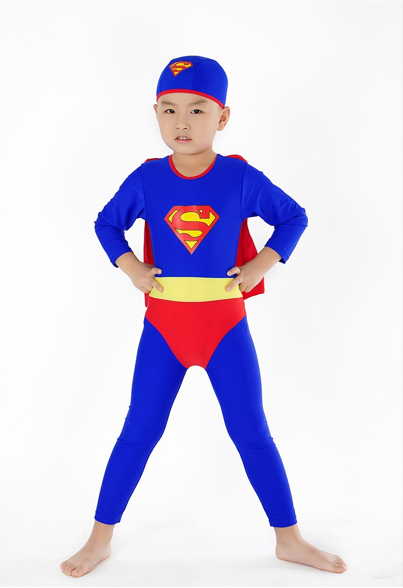 1ac07a750b 2019 Superman Wetsuit For Boy Swimming Wetsuit Kids Diving Suit Long Sleeve  Anti UV Sun Protection Kids Surfing Suit From Hung_elise, $20.11 |  DHgate.Com