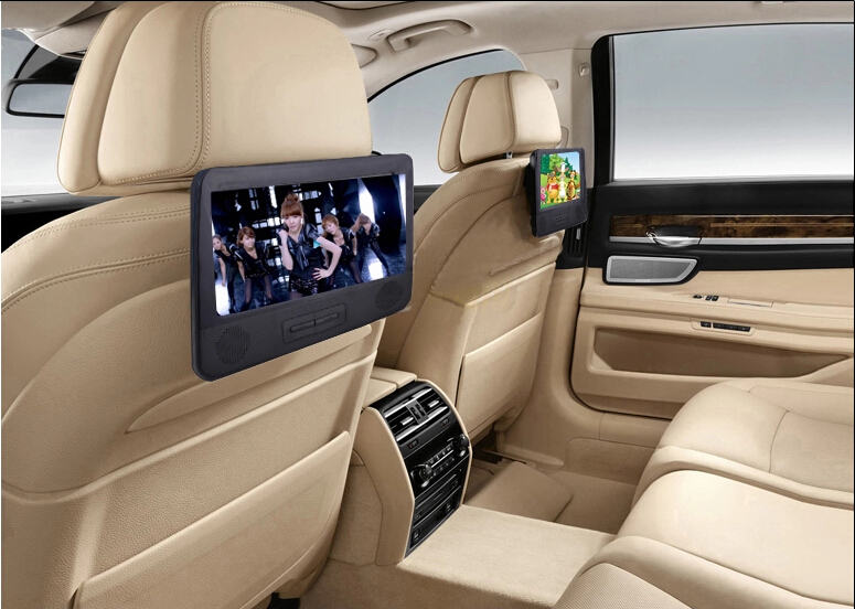 2016 New 7 8 Inch Car Headrest Dvd Player With Dual Screen