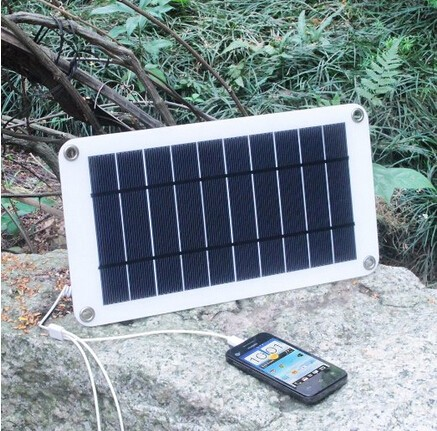 Wholesale Solar Cells 8w - 8W 5V Solar Panel charger Portable charger for outdoor