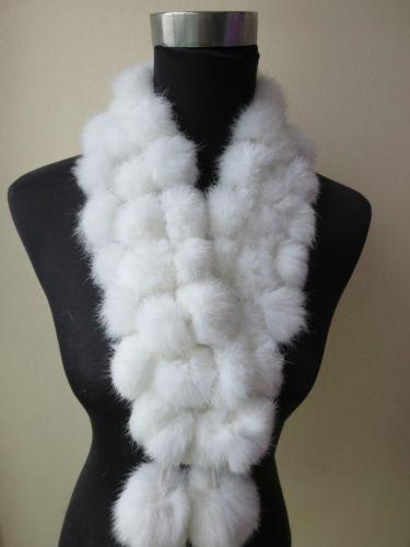$enCountryForm.capitalKeyWord Canada - Winter warm real handmade triplex rabbit fur scarf new style white