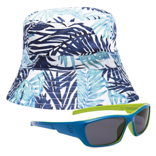 Wholesale Children Cap Hat Frog - Kids Sunglasses Boys Frog Sun Glasses Eyewear Children Hat Cap Set travel Outdoor Kit Protect from the Sun