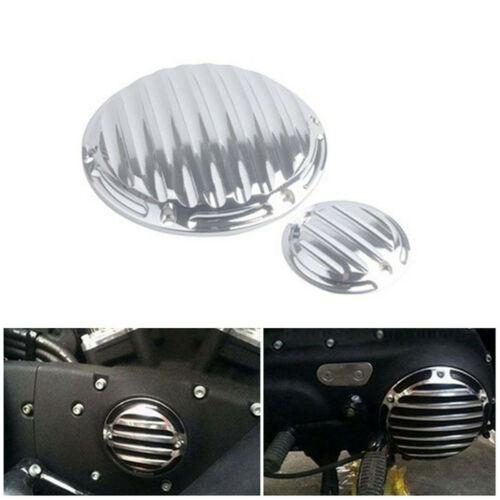 спортивная обложка Скидка Мотоцикл двигателя Боковая крышка хромированная алюминиевая для Harley Sportster XL 883 1200 48 Двигатель Статор Крышка