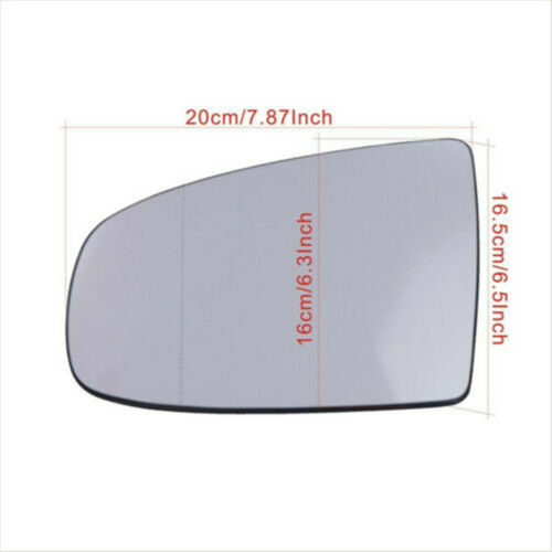 Right Side Heated Wing Mirror Glass Fits For BMW X5 X6 E70 E71 E72 2008-2014 US