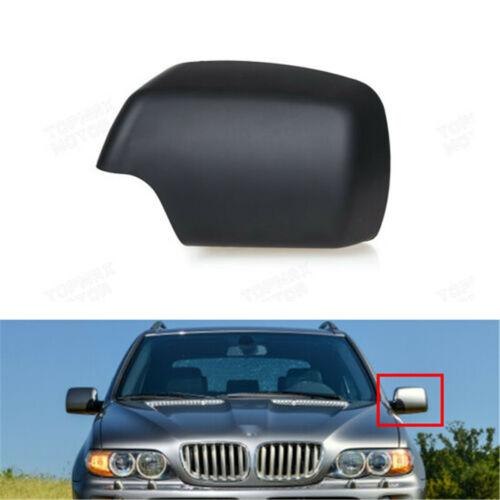 Для BMW E53 X5 2000-2006 левый водителя боковой двери зеркало заднего вида крышки Cap Black 51168256321 1шт