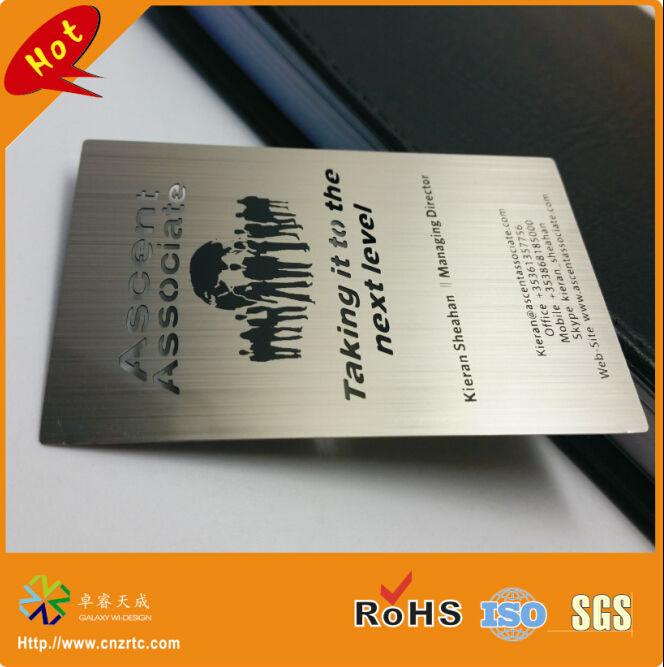 stainless steel metal card 5