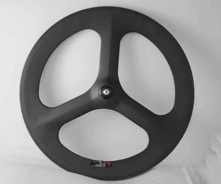 3k matt tri-spokes wheel