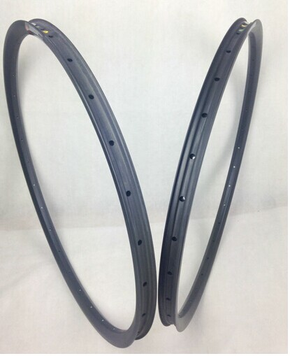 most popular products 29er mtb carbon rims hookless full carbon rims hot sale MTB wheels