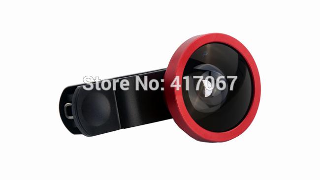 Universal Clip 0.4x Super Wide Angle Lens Removable Selfie Cam Lens